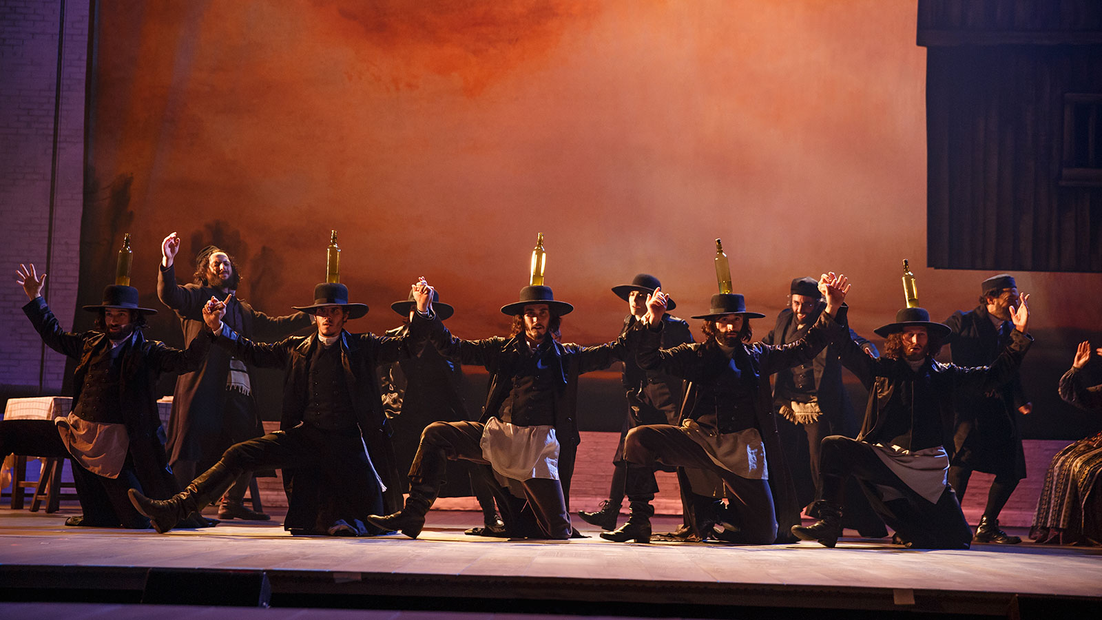 The Cast Of Fiddler On The Roof Photo Credit  Joan Marcus