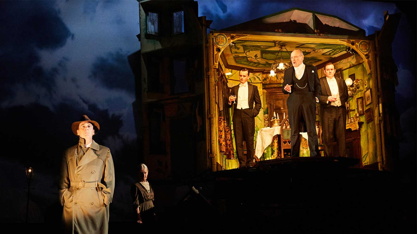 An Inspector Calls At The Playhouse Theatre Cast Of An Inspector Calls Photo By Mark Douet 1