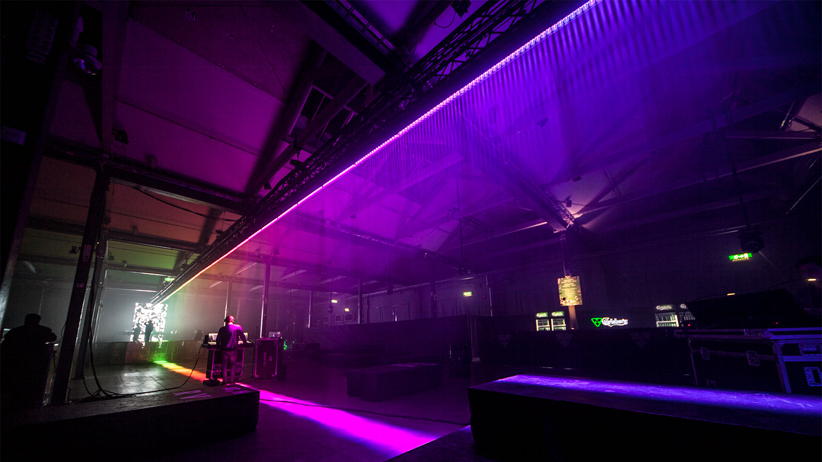 Anders Heberling digs deep into the LED portfolio for largest party ever
