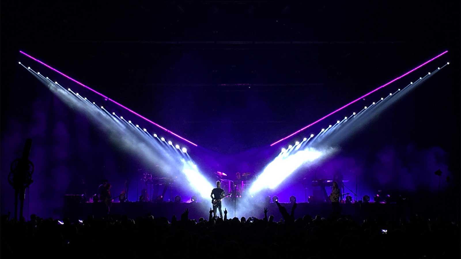 German Light Products - Maroon 5 und die X4 Bars für die Party des ...