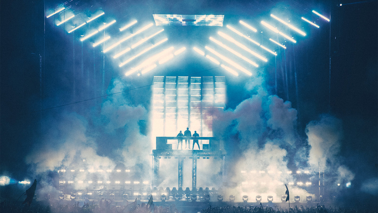 Swedish House Mafia mit GLP beim Ultra Festival 2018