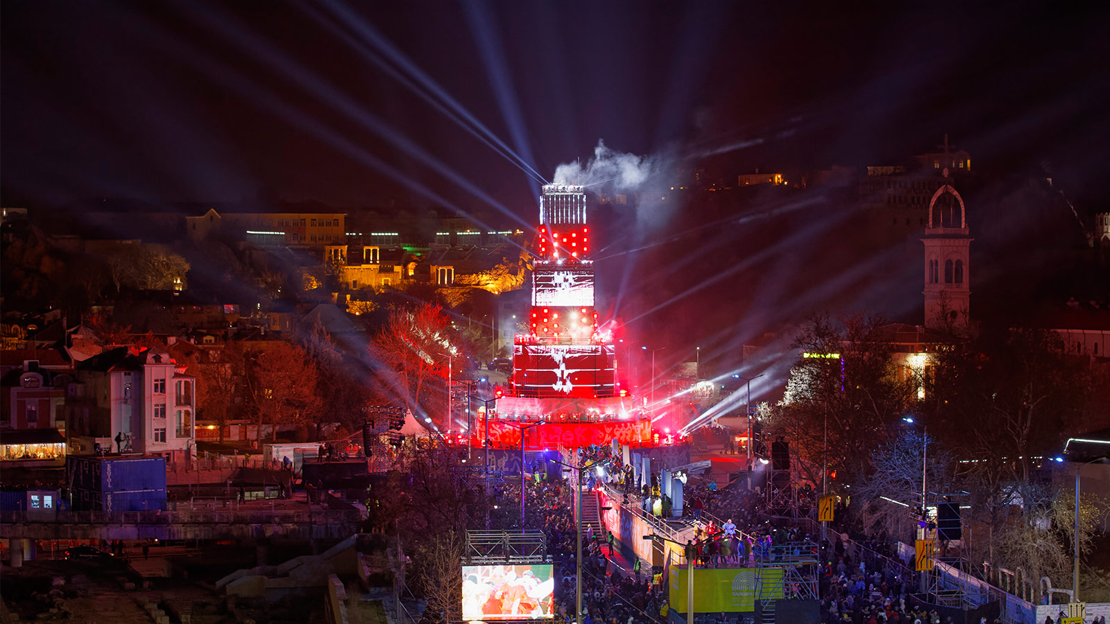 Plovdiv's spectacular European Capital of Culture Year opening with GLP