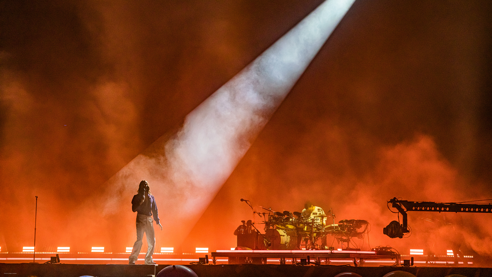 Tom Campbell boosts 30 Seconds to Mars' visual extravaganza