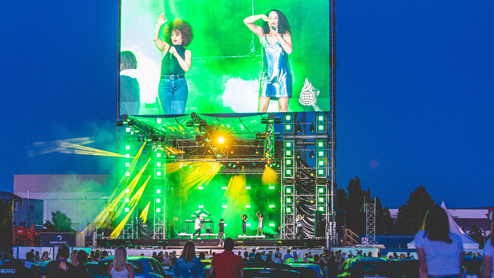 GLP supports cultural stage at the Karlsruhe fair